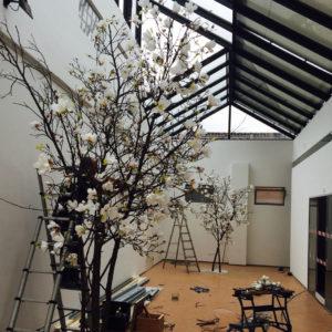 opbouw kunstboom