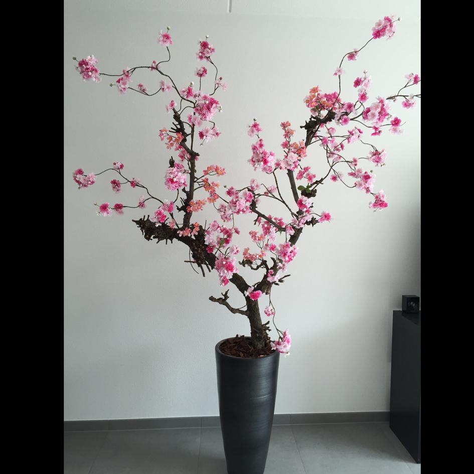 Nieuw Roze bloesemboom 160cm   Kunst bloesembomen XG-74