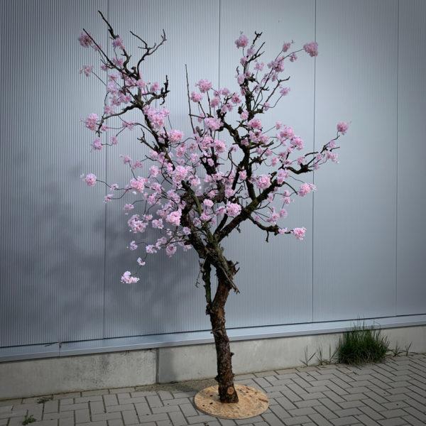 Grote roze kersenbloesem nep