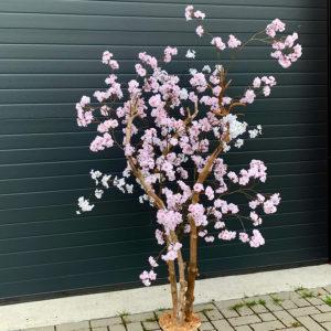 Roze bloesemboom 3 takken